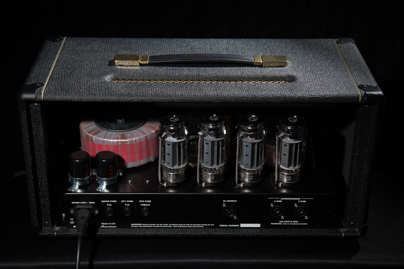 The YI200 was designed from the ground up to deliver uncompromising tone without the formidable weight associated with traditional valve bass amps